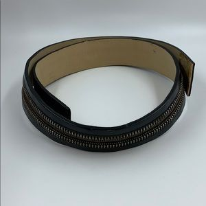 Worth Zipper Belt